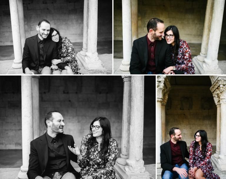 SEANCE ENGAGEMENT MARIAGE ARLES CLOITRE SAINT TROPHIME LA ROQUETTE ARLES