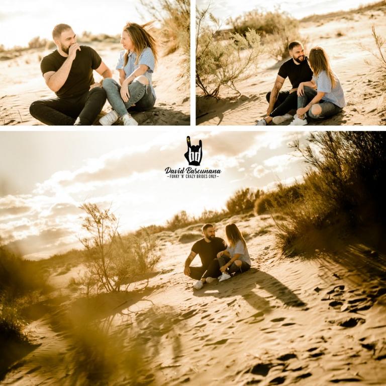 seance engagement photo couple saintes maries de la mer mariage