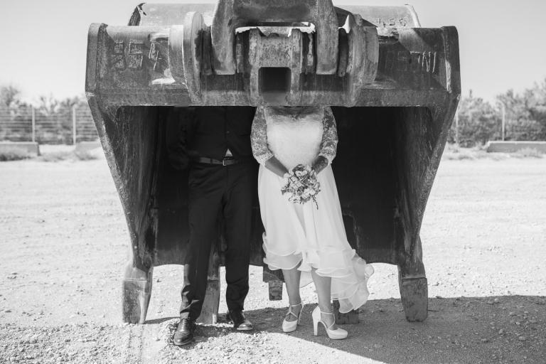 mariage à tarascon et seance photo aux saintes maries de la mer